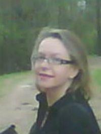 Елена Черникова 30 апреля 2010 года.  Сфотографировал поэт Ефим Бершин